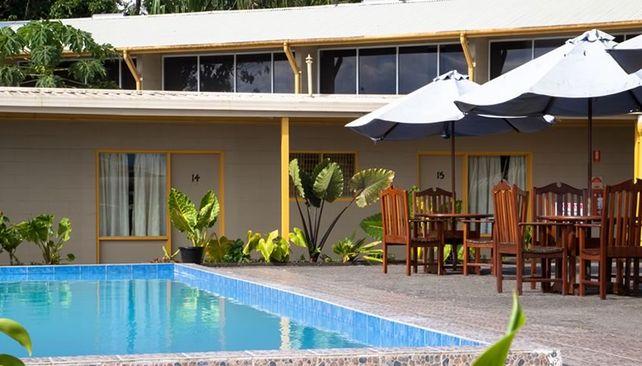 Huon Gulf hotel