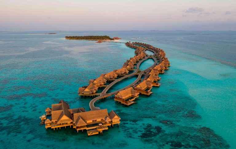 Dovolenka Najlepšie hotely sveta: Joali, Maldivy