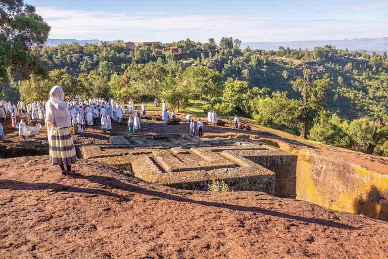 Dovolenka Severná Etiópia a safari