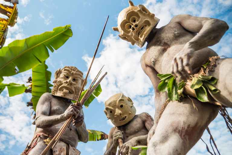 Dovolenka Papua Nová Guinea a luxusný Singapur