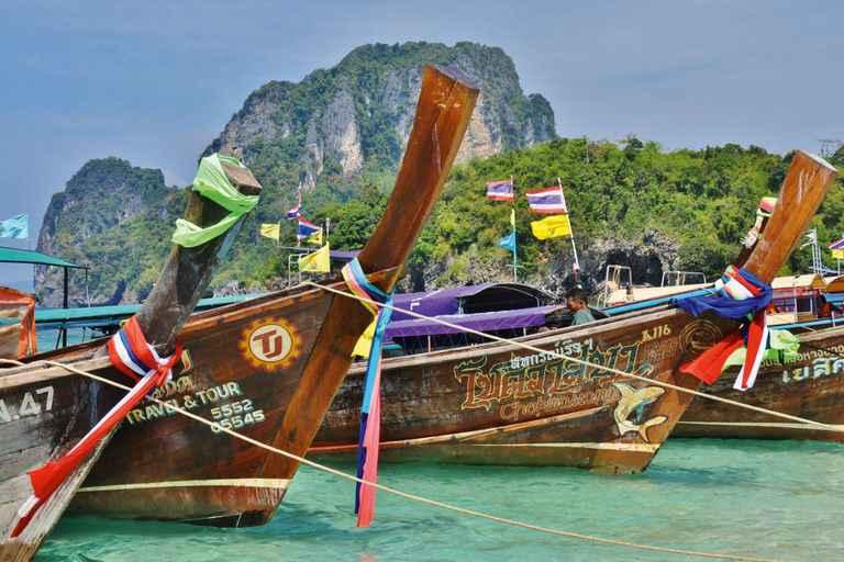 Dovolenka Bangkok, Krabi