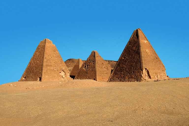 Dovolenka Sudán: modrý a biely Níl