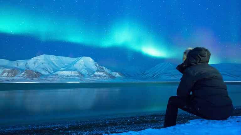 Dovolenka Špicbergy, Nórsko - polárna žiara na ďalekom severe