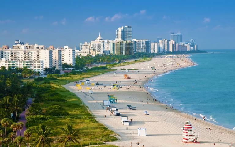 Západ USA a Miami Beach