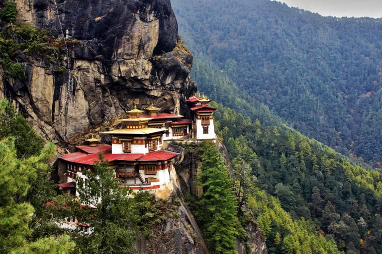 Bhután, Sikkim, Dardželing, Nepál