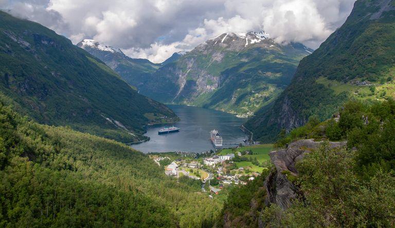 Nórsko - zlatý trojuholník