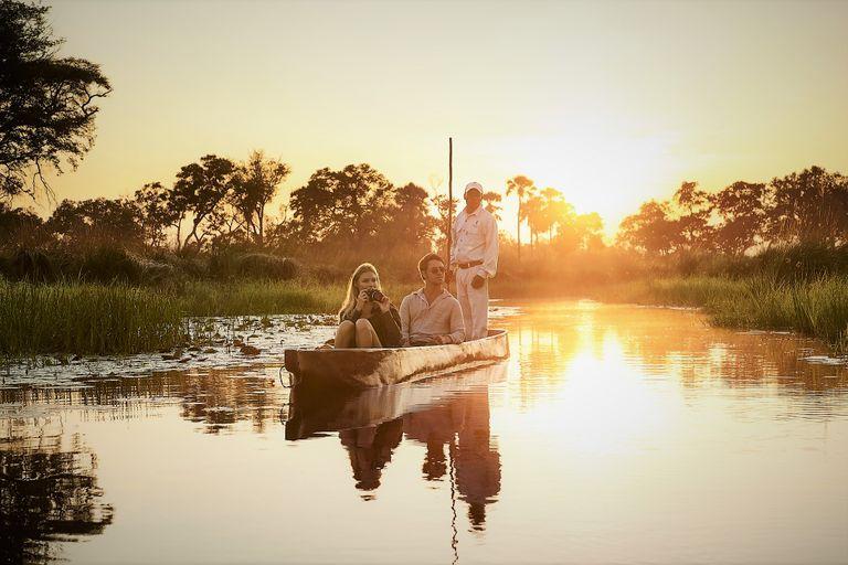 Okavango a Viktóriine vodopády