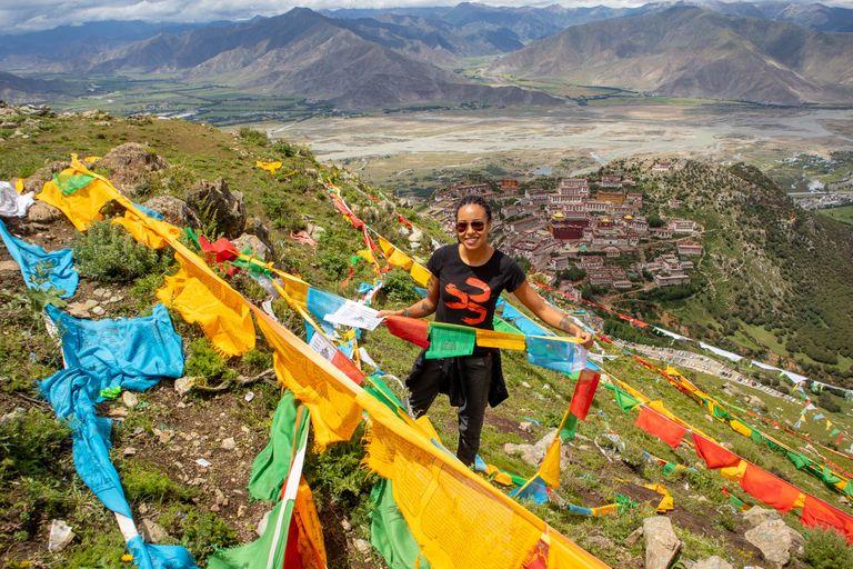Tibet, Nepál - 2020