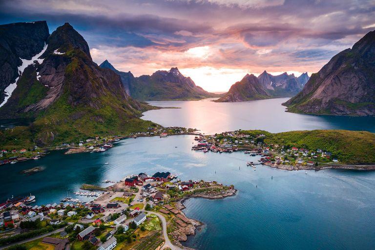 Dovolenka Nórsko - Polnočné slnko