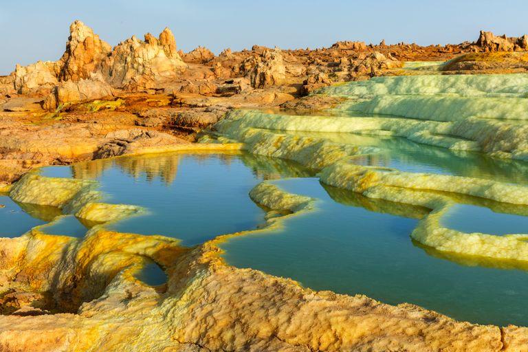 Dovolenka Etiópia, Danakil - cesta do pekla