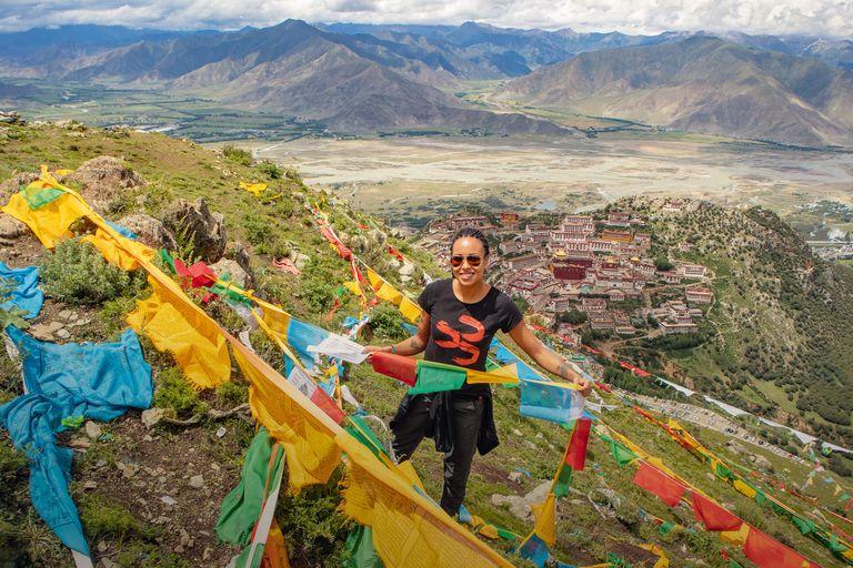 Čína, Tibet, Nepál, India