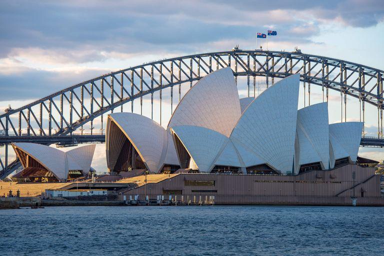 Austrália - letecký okruh