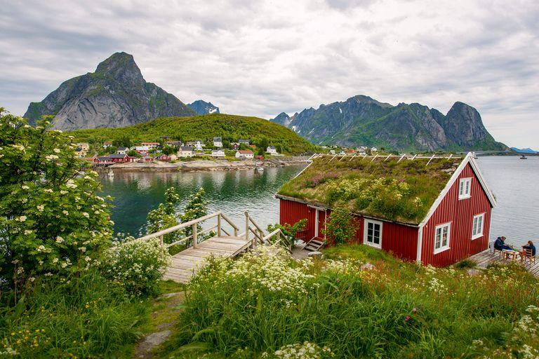 Dovolenka Nórsko, Lofoty, Rusko