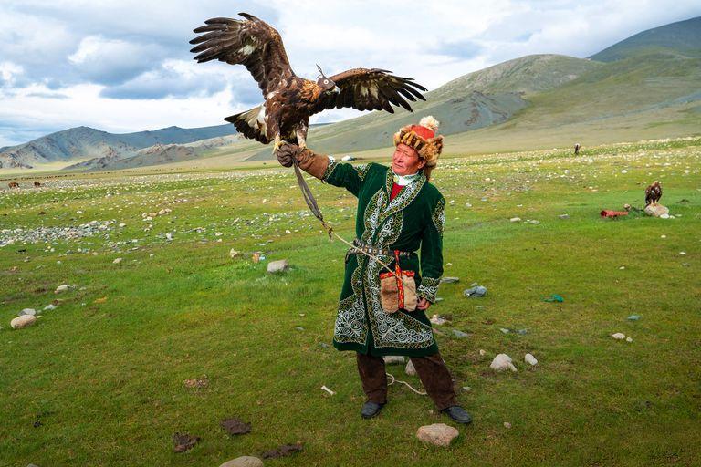 Dovolenka Orlí lovci - cesta za Aisholpan
