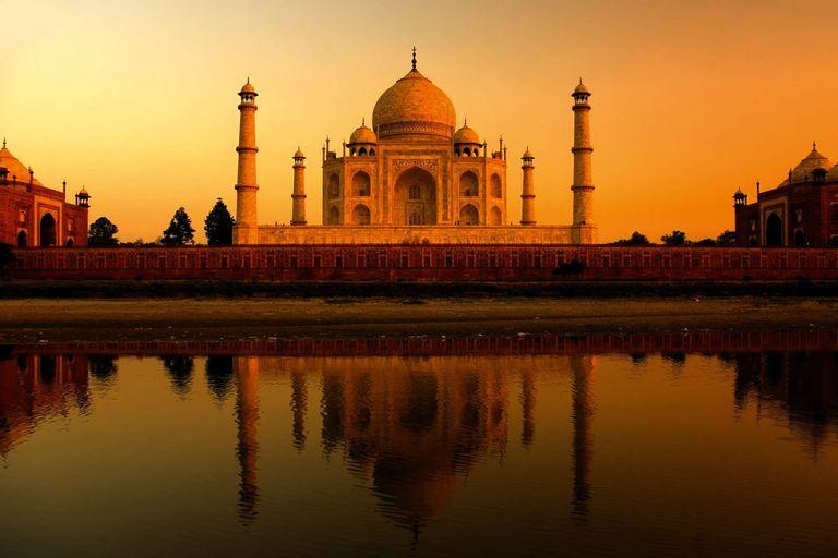 India - zlatý trojuholník