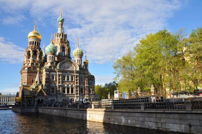 Kyjev, Minsk, Moskva, Petrohrad