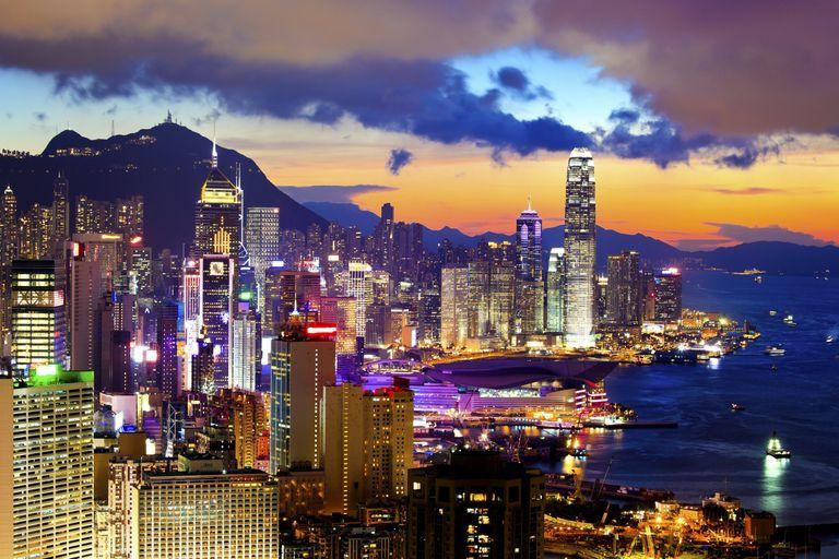 Najkrajšie mesto na svete: Hongkong