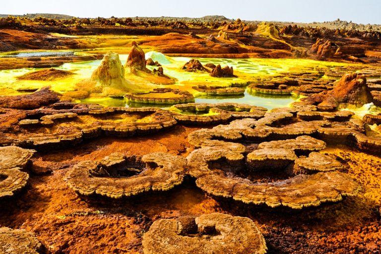 Etiópia, Danakil - cesta do pekla