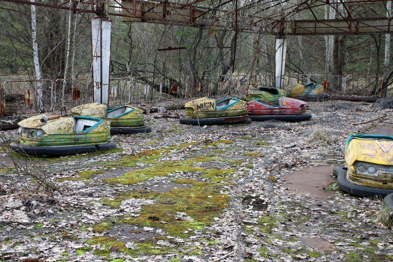 Dovolenka Černobyľ