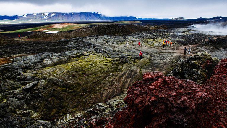 Dovolenka Ohnivý okruh Islandom