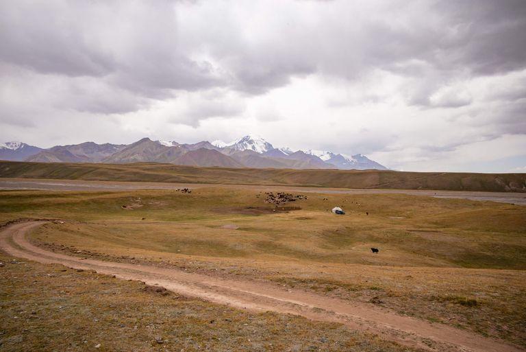 Dovolenka Hodvábna cesta zo západnej Číny do Kirgizska