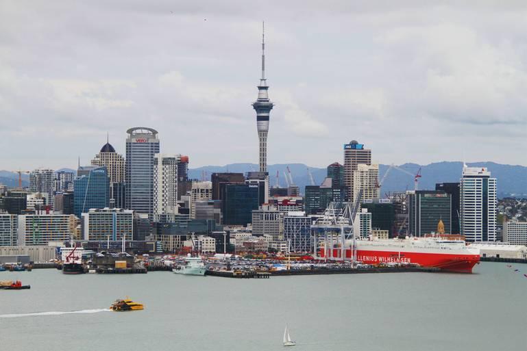 Auckland - mesto plachiet