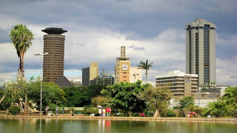Nairobi - chladné vody pod horúcim slnkom