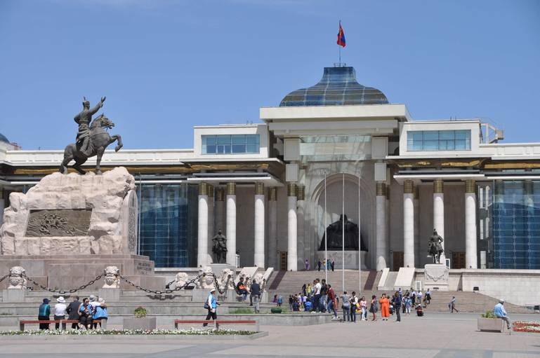 Červený hrdina - Ulanbátar