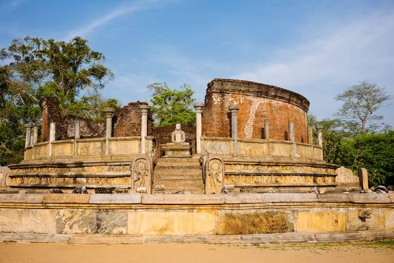 Polonnaruwa - mesto kultúrneho trojuholníka
