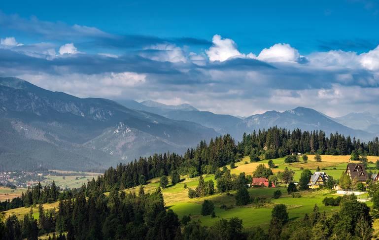 Zakopané a klenoty poľských Tatier