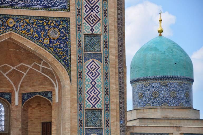 Taškent - v hlavnom meste Uzbekistanu
