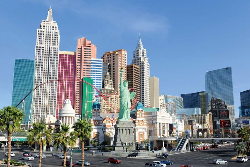 Las Vegas a New York