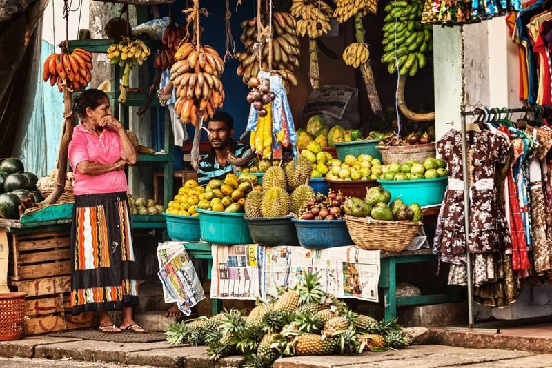 Srí Lanka, južná India